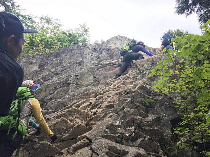 カミナリ岩