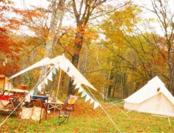 戸隠のキャンプ場