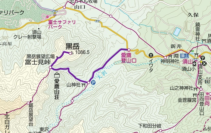 黒岳コース
