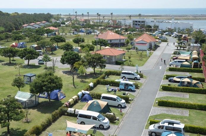 静岡県海洋公園オートキャンプ場の画像
