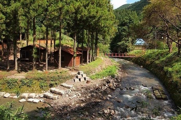 静岡県炭焼の杜明ヶ島キャンプ場の画像