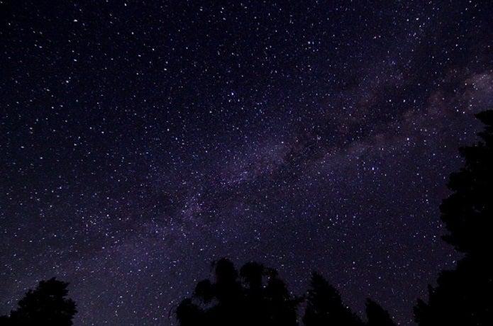 星が輝いて見える長野県のキャンプ場