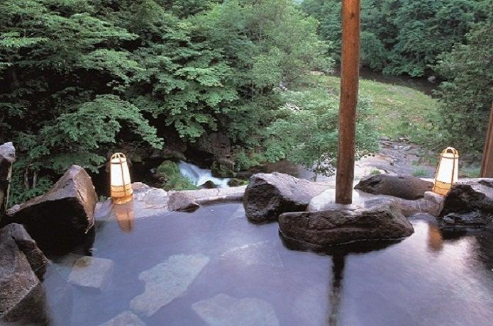 蓼科の温泉