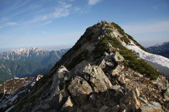 五竜岳の写真