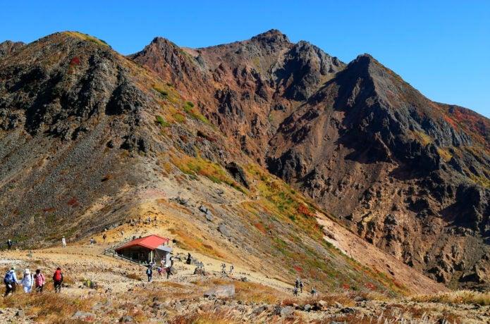 峰の茶屋・茶臼岳ルートの画像