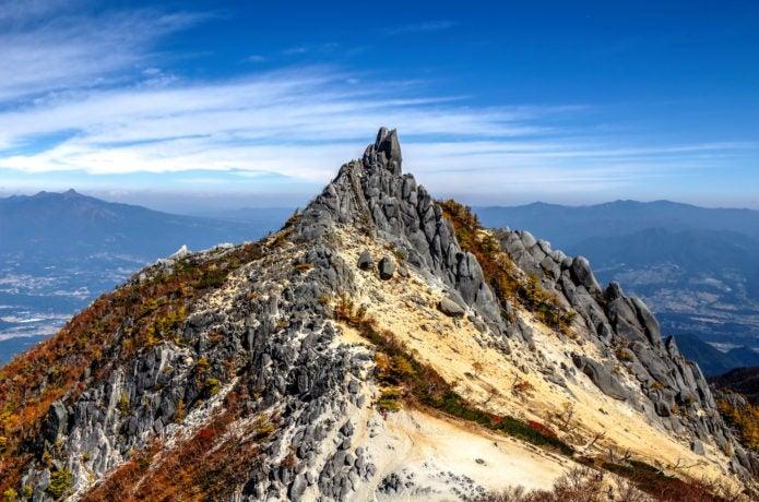 鳳凰山の地蔵岳