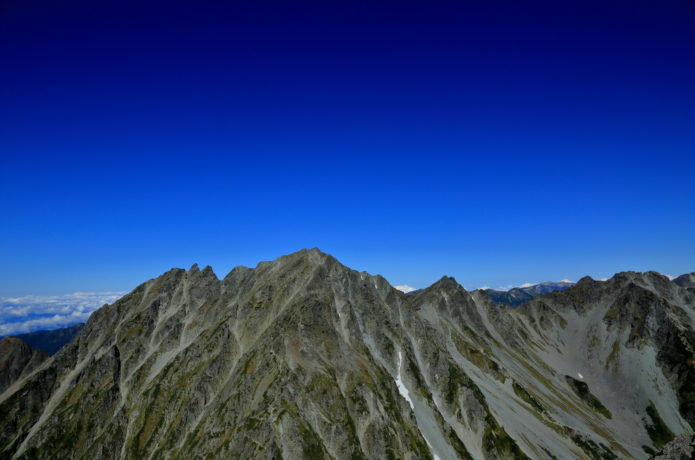奥穂高岳の画像