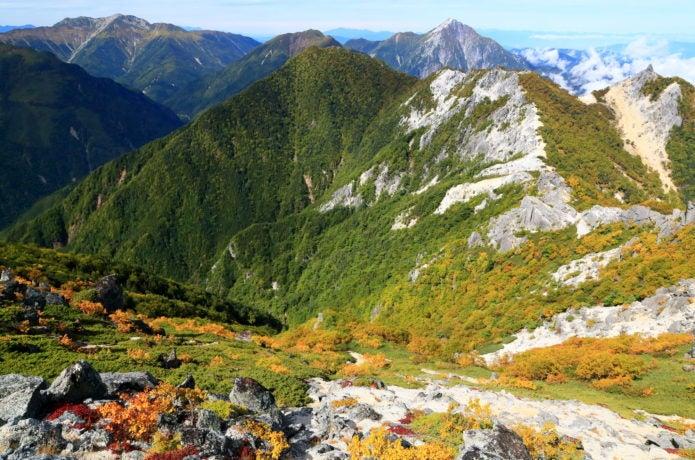 甲斐駒ケ岳の画像