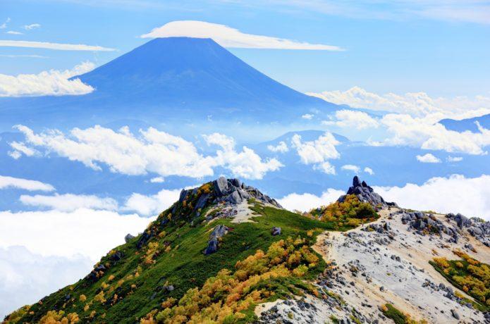 鳳凰山の画像