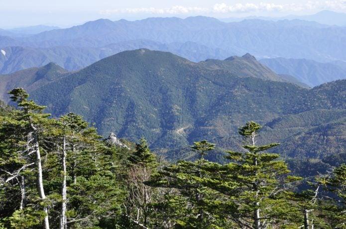 乾徳山と大菩薩嶺
