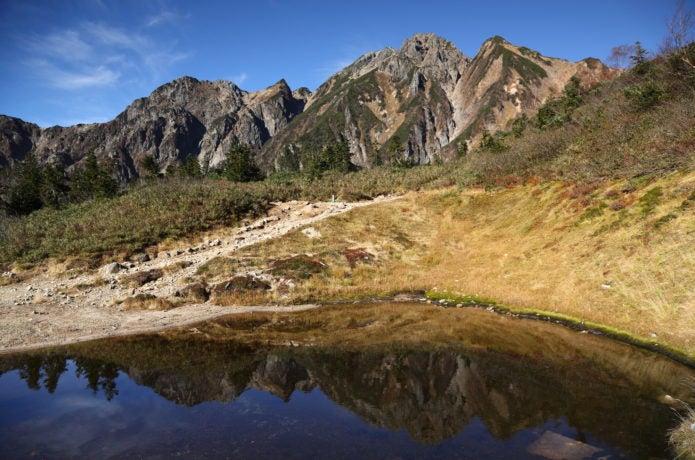 五竜岳の遠景