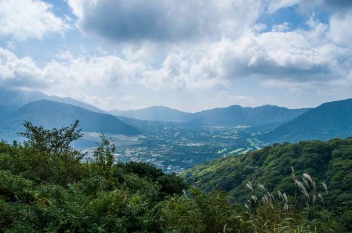 金時山遠景