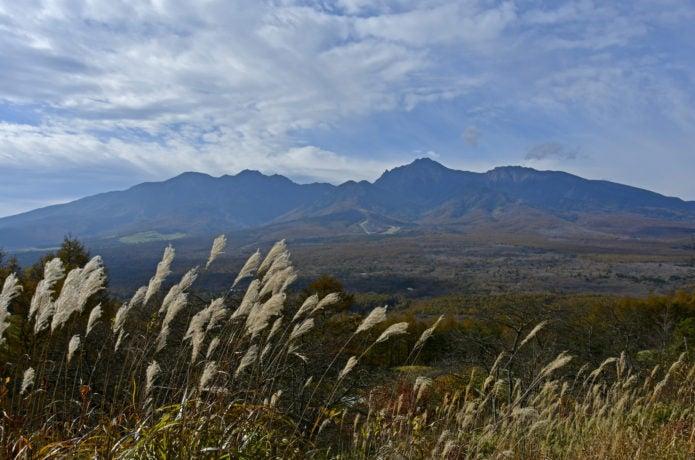 獅子岩からの八ヶ岳の眺め