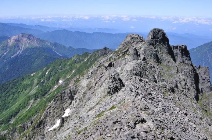 奥穂高岳山頂の画像