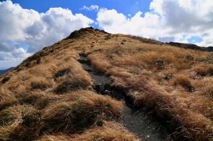 八丈島の登山