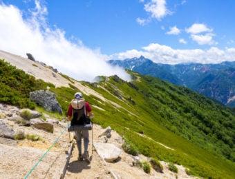 夏山登山の画像