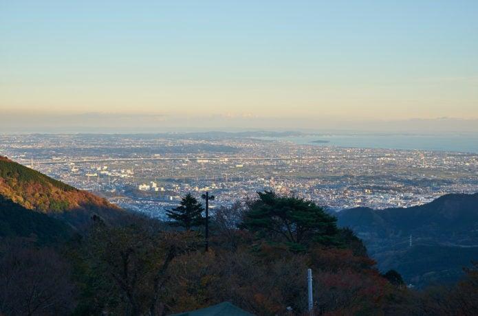 大山からの眺めの画像