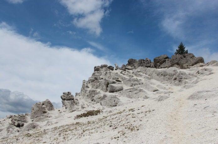 日向山頂上の雁ヶ原の画像
