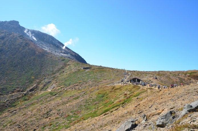 那須岳の登山コース画像
