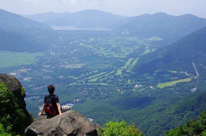 金時山からの眺望