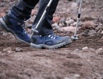 キャラバンの登山靴で登山