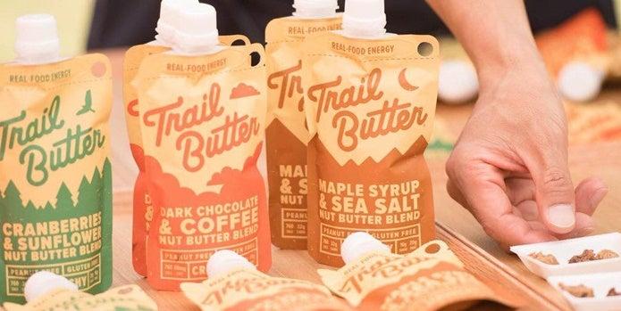 トレイルバターとナッツ類