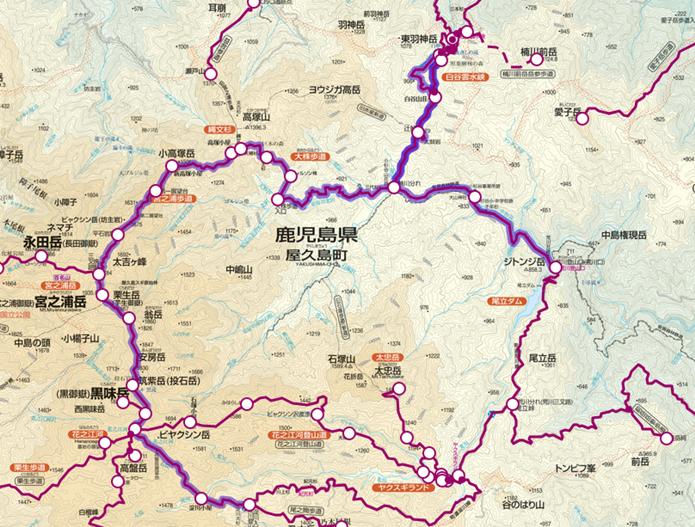 宮之浦岳・白谷雲水峡登山コース