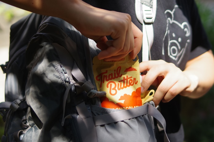 ポケットからトレイルバター