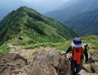 谷川岳西黒尾根コース
