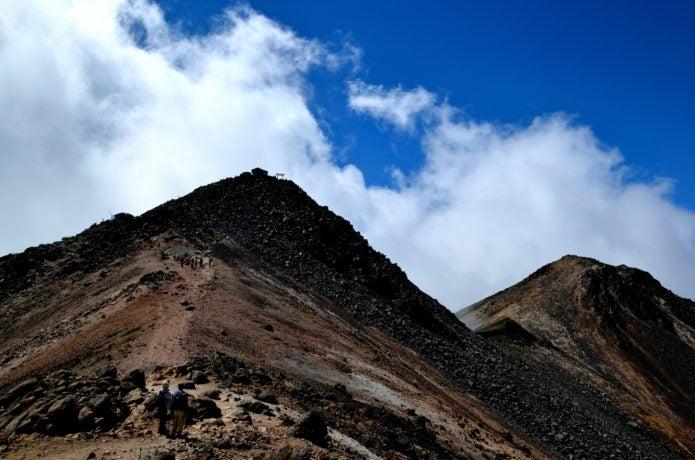 剣ヶ峰の画像