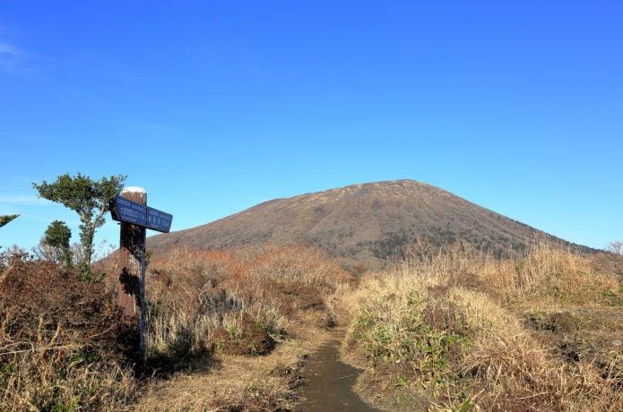 初夏の霧島山