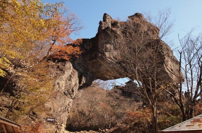 妙義山の第4石門
