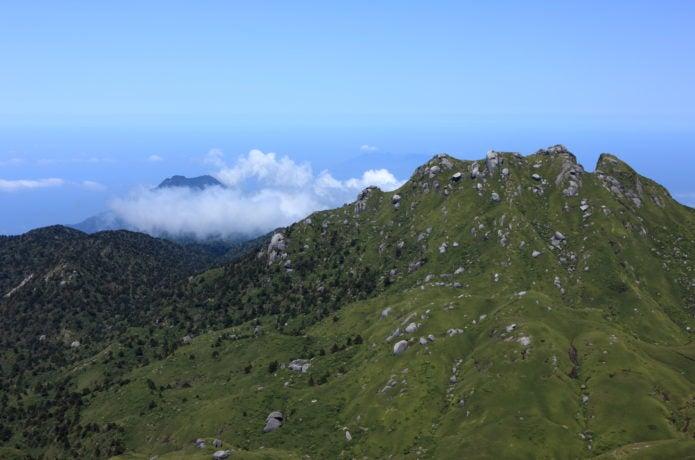 宮之浦岳からの眺め