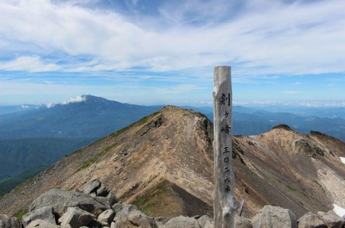 乗鞍岳の剣ヶ峰