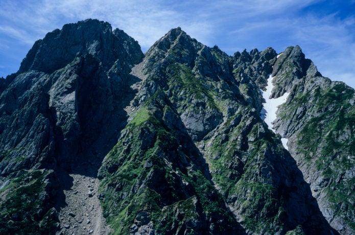 大迫力の剱岳