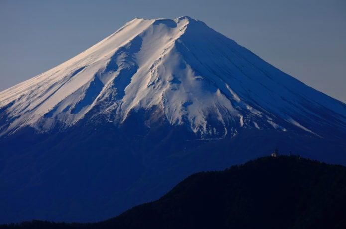 滝子山から見る富士山