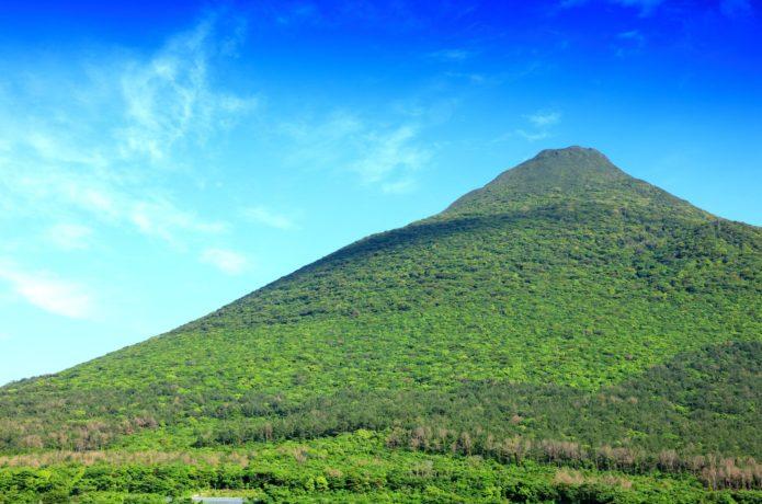 薩摩富士と呼ばれる開聞岳