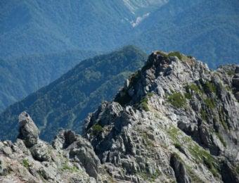 剱岳北方稜線