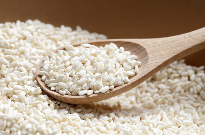 甘酒の材料の米麹