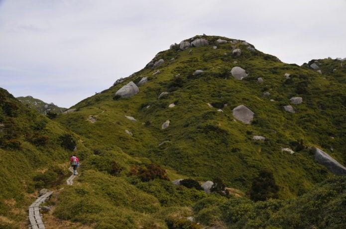 宮之浦岳への登山