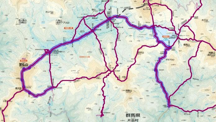 大清水から至仏山登山コース画像