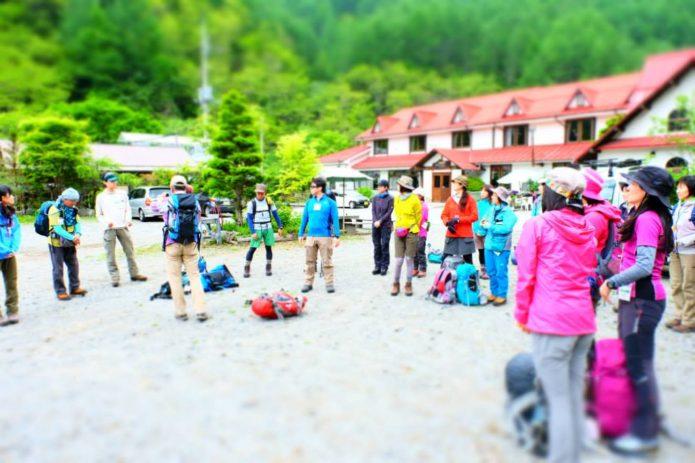 石井スポーツの登山学校