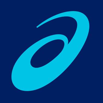 オーダーメイドのインソールを作れるアシックスのロゴ