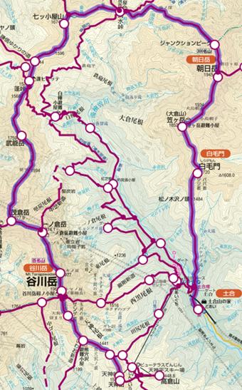 谷川岳縦走コース