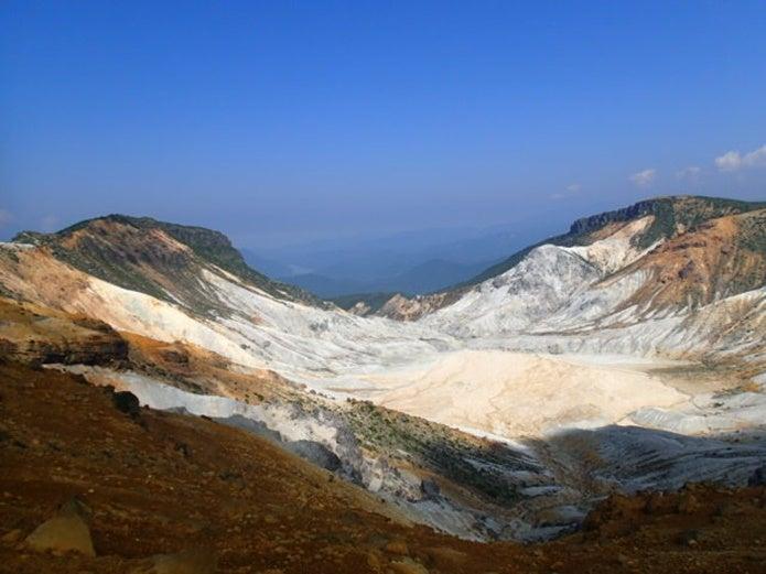 安達太良山登山中に見られる沼ノ平
