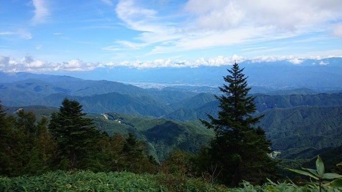 恵那山広河原コースの展望