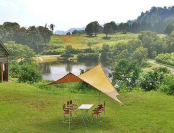新潟県の大厳寺高原キャンプ場