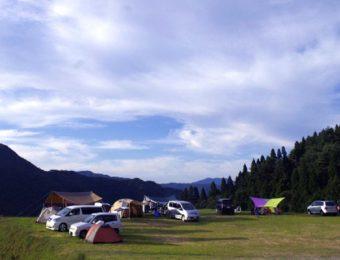 兵庫県のキャンプ場の若杉高原おおやキャンプ場