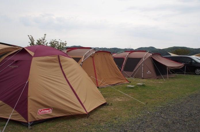 岡山キャンプ場