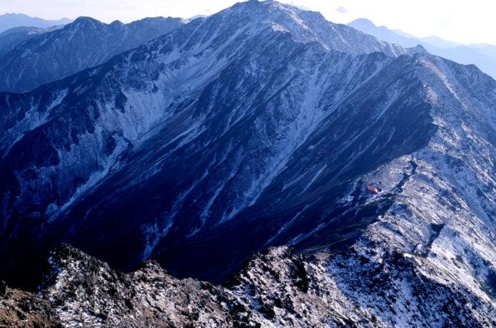 南アルプスの間ノ岳